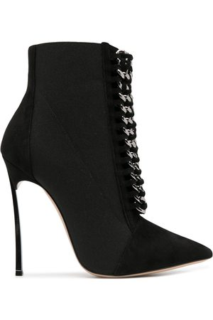 Casadei Blade Chelsea-chain 115mm ankle boots
