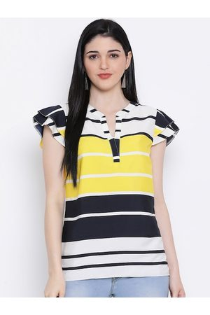 Oxolloxo Women Multicoloured Striped Top