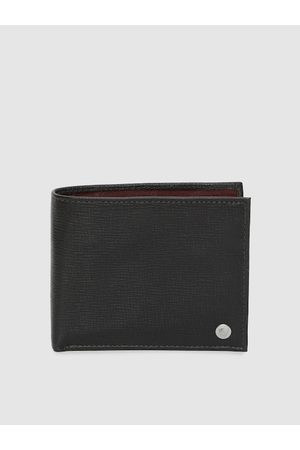 Hidesign Men Brown Solid Two Fold Wallet