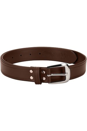 Jump Men Brown Solid Belt