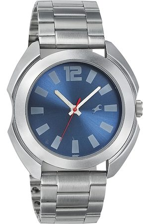 Fastrack Men Blue Dial Watch NG3117SM02C