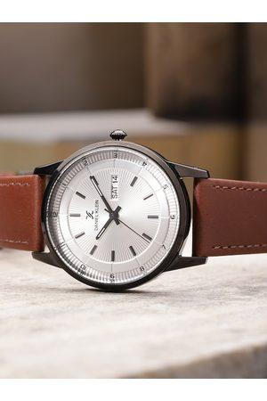 Daniel Klein Premium Men Silver-Toned Analogue Watch DK11835-6