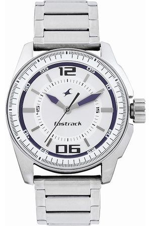 Fastrack Men Silver-Toned Dial Watch NE3089SM01