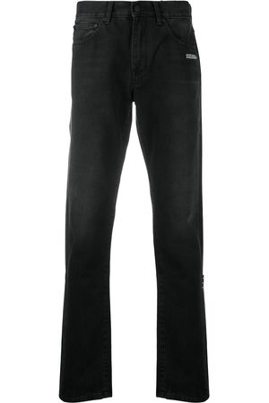 OFF-WHITE Diag slim-fit jeans