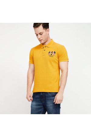U.S. Polo Assn. . Patchworked Regular Fit Polo T-shirt