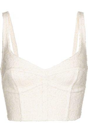 Marc Jacobs Women Corsets - Wool-blend corset bra