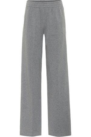 Norma Kamali Women Trousers - High-rise track pants