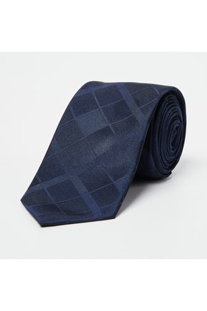 Code Checked Broad Tie
