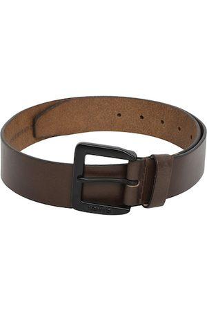 Levi's Men Brown Solid Leather Belt