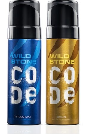 Wild stone Men Set of 2 Body Perfume
