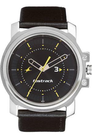 Fastrack Men Black Dial Watch NA3039SL02
