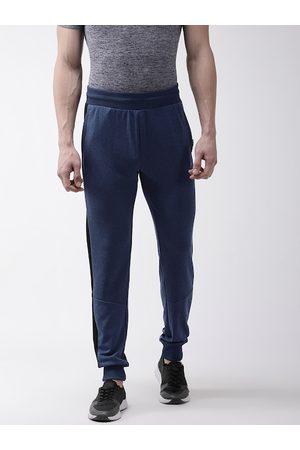 Alcis Men Navy Blue Slim Fit Solid Training Joggers