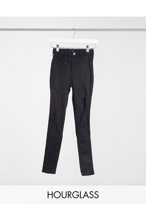 Hollister Women Skinny - Hourglass skinny jeans with rips in