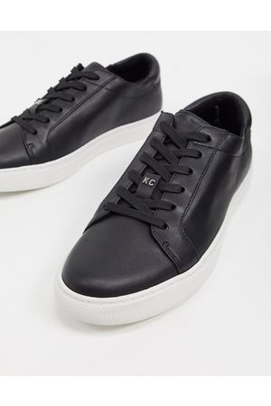 Kenneth Cole Kam lace up trainers in leather