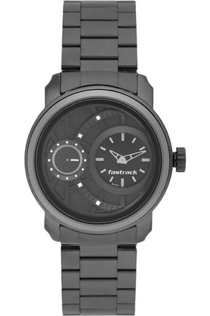 Fastrack Men Black Analogue Watch NK3147KM01_OR