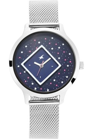Fastrack Women Navy Blue Analogue Watch