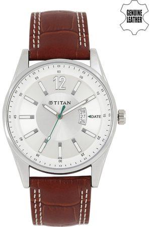 Titan Octane Men Silver-Toned Dial Watch NF9322SL03ME