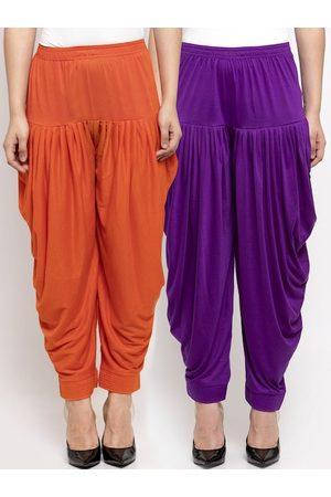 GRACIT Women Pack Of 2 Solid Salwars