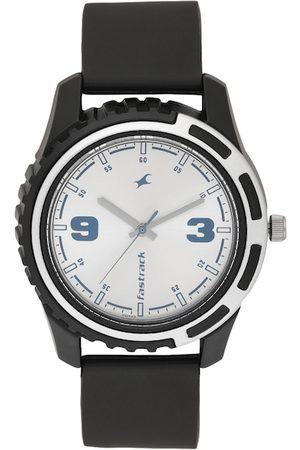 Fastrack Men Silver-Toned Analogue Watch NJ3114PP02C_OR