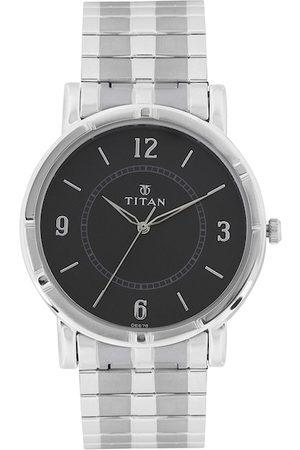 Titan Men Black Dial Watch 1639SM03