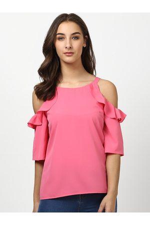 Harpa Women Pink Solid Top