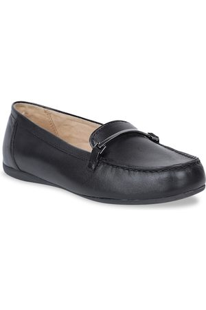 Naturalizer Women Black Solid Loafers
