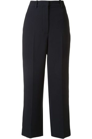 3.1 Phillip Lim HEAVY CADY RELAXED FIT CROPPED TROUSER