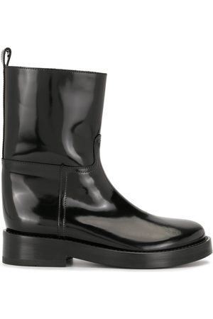 ANN DEMEULEMEESTER High-shine ankle boots