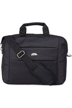 KARA Men Black Solid Laptop Bag
