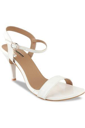 Shoetopia Women White Solid Stilettos