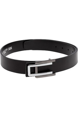 Carlton London Men Black Solid Belt