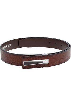 Carlton London Men Tan Brown Solid Belt