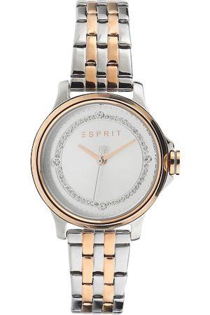Esprit Women Gold-Toned & Silver-Toned Analogue Watch ES1L144M0115