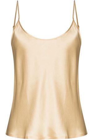 La Perla S4 spaghetti-straps silk camisole