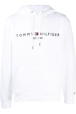 Tommy Hilfiger Men Hoodies - Embroidered logo drawstring hoodie