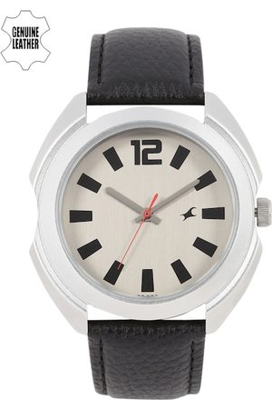 Fastrack Men Watches - Men Silver-Toned Analogue Watch