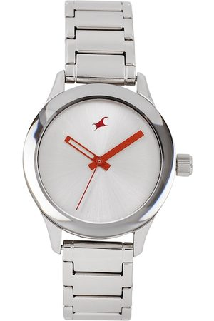 Fastrack Women Silver-Toned Analogue Watch
