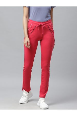 Cayman Women Pink Solid Track Pants