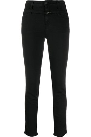 Closed High-waist slim-fit jeans