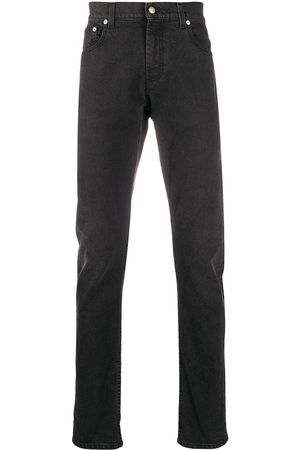 Alexander McQueen Mid-rise slim-fit jeans