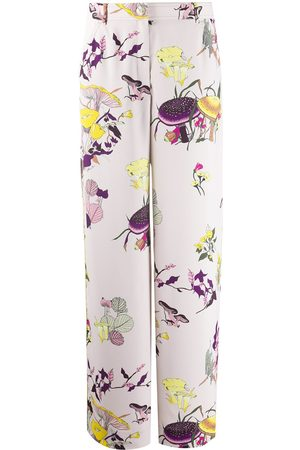 Tory Burch Floral print palazzo trousers