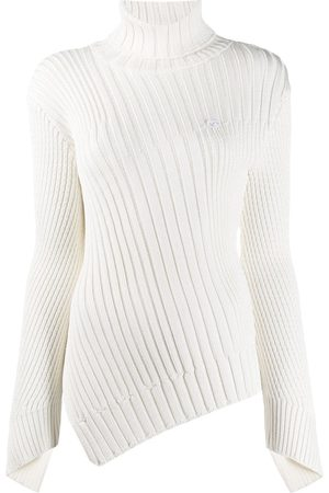 COPERNI Ribbed knit asymmetric jumper