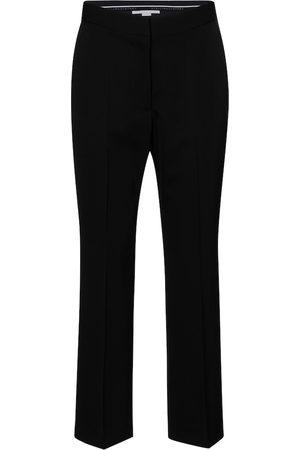 Stella McCartney Carlie high-rise straight wool pants