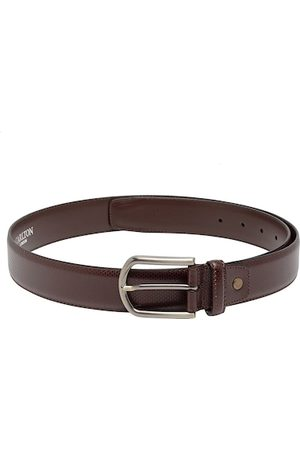 Carlton London Men Brown Textured Belt