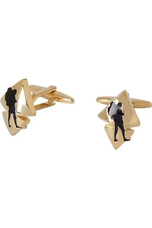 shaze Gold-Toned Quirky Kite Cufflinks