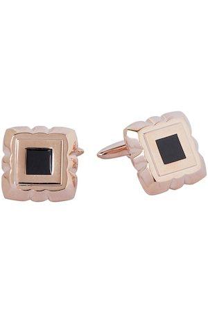 shaze Rose Gold -Toned Square Cufflinks