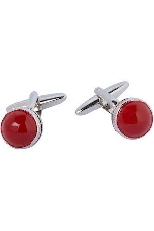 shaze Red Ball Cufflinks