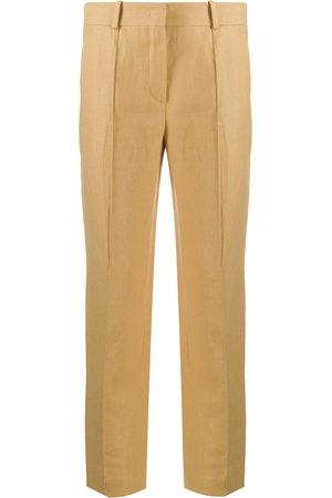 Loro Piana Panelled cropped trousers