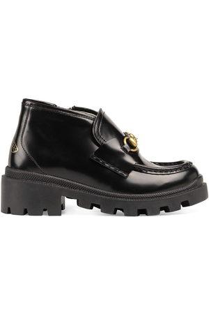 Gucci Horsebit lug-sole boots