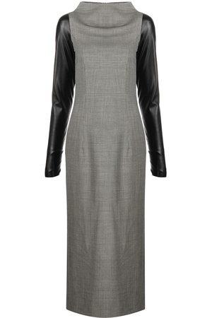 Gianfranco Ferré 2000s contrast-sleeve dress